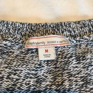 GAP Sweaters - Black & White Knit Tunic Sweater